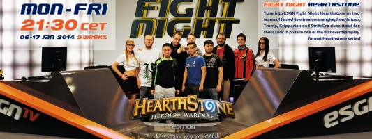 Hearthstone: ESGN Fight Night Episode 1