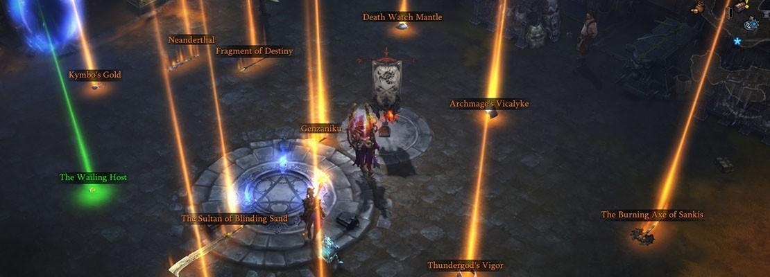 Traden in Reaper of Souls?