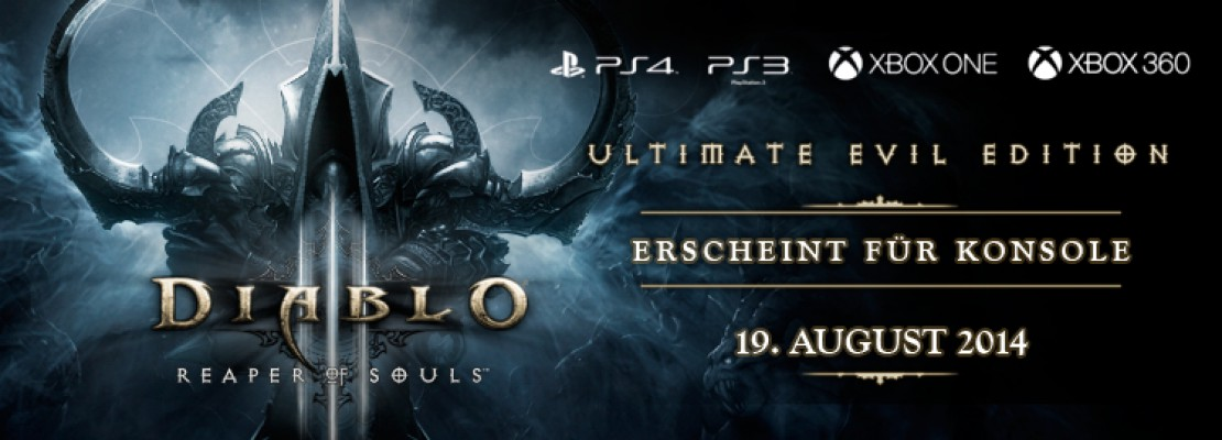 Reaper of Souls erscheint am 19. August für Konsole