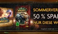 Sommerverkauf: 50 % Rabatt auf WoW und MoP