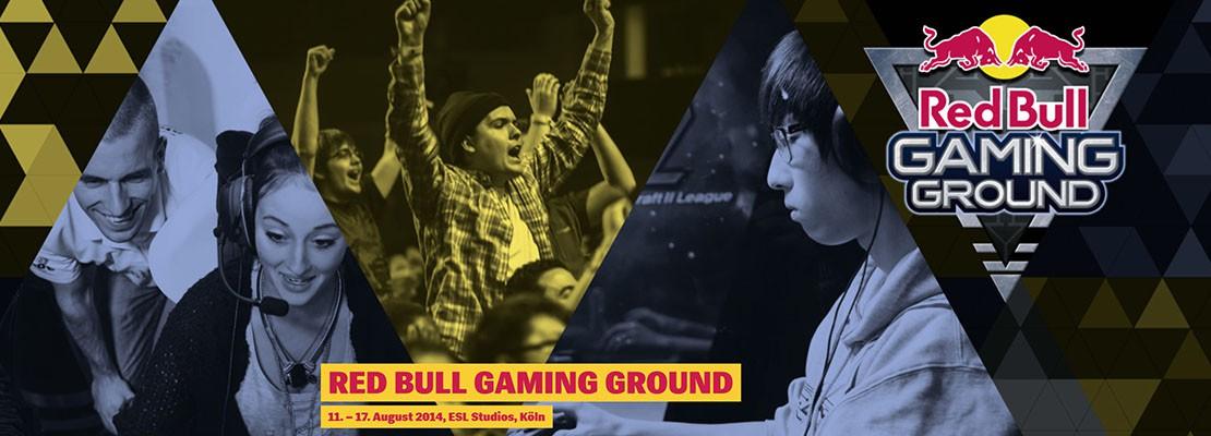 Gaming Ground: Kooperation mit Red Bull