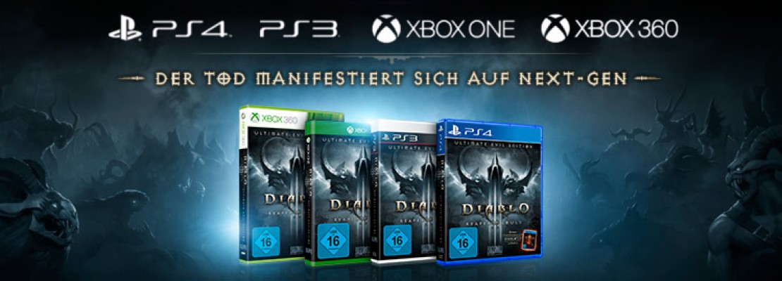 Diablo 3 UEE: Keine Items aus den Saisons für Konsolen