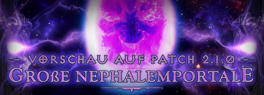 Diablo 3: : Vorschau auf die großen Nephalemportale