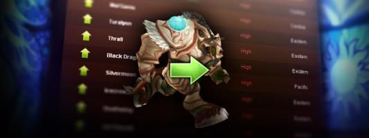 WoW: Kostenlose Charaktertransfers