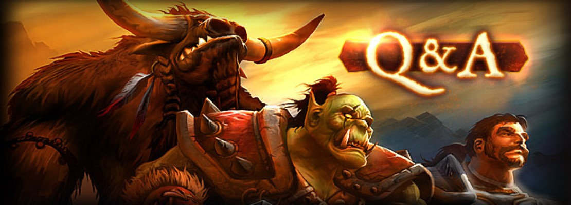 WoW: Live Developer Q&A zum PvP in WoW