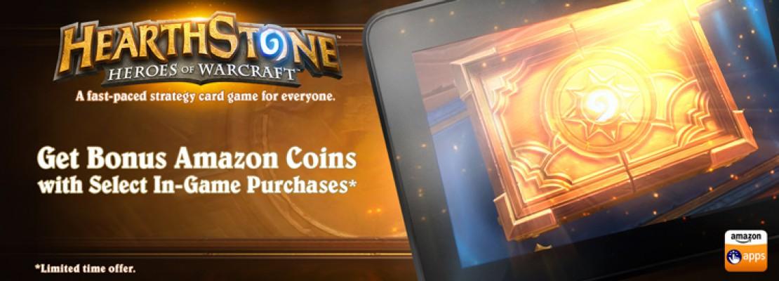 Hearthstone Android: Amazon Coins für das Kaufen von Packs