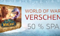 WoW: 50% Rabatt auf World of Warcraft
