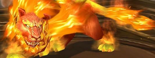 Shadowlands: Der Friseur bietet allen Druiden die Feuerkatzengestalt an
