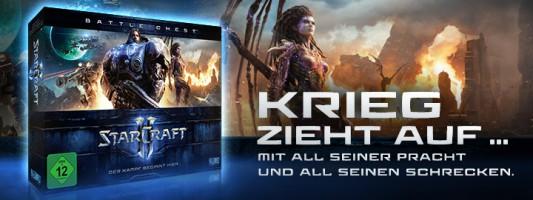 StarCraft II: Die Battle Chest Version ist jetzt erhältlich