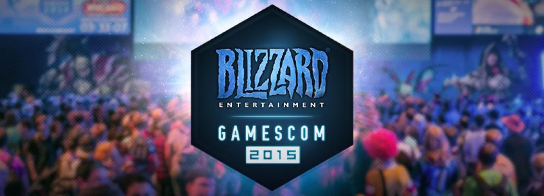 Blizzard: Eine Pressekonferenz auf der Gamescom