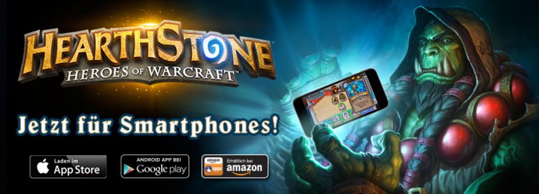 Hearthstone: Das Spiel ist jetzt auf Smartphones verfügbar