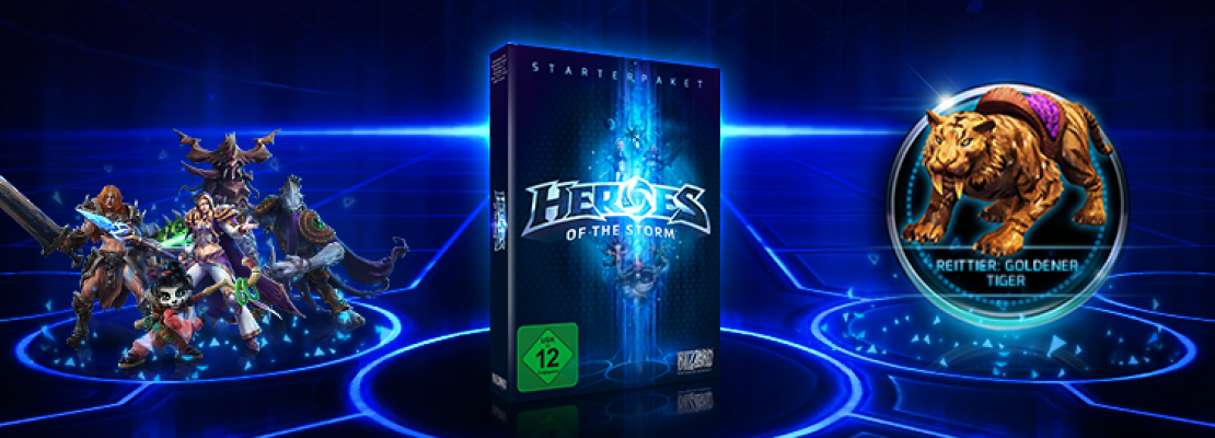 Das Starterpaket für Heroes of the Storm