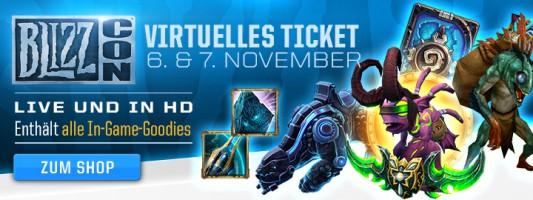Blizzard: Die In-Game-Goodies für das virtuelle Ticket der Blizzcon wurden enthüllt
