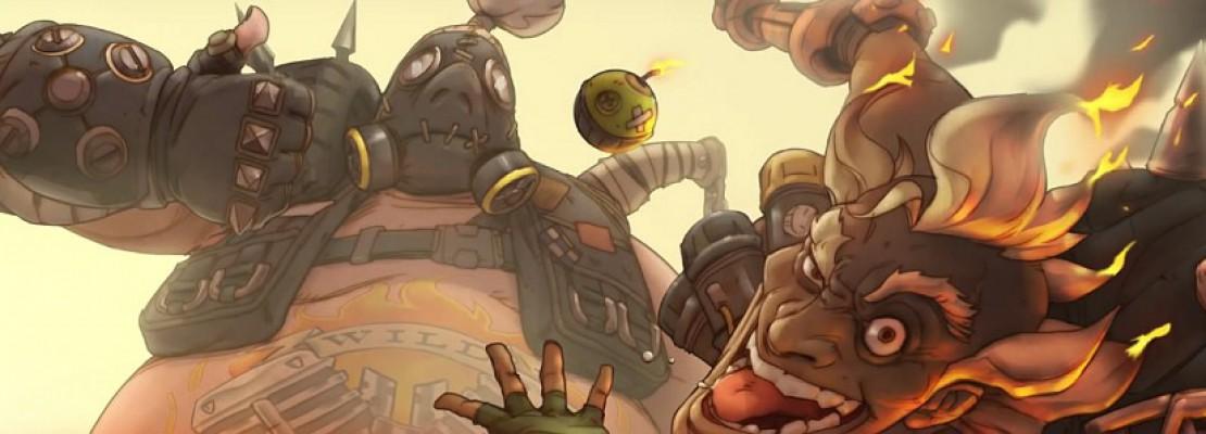 Overwatch: Am 05. Mai gibt es ein Comic zu Junkrat & Roadhog