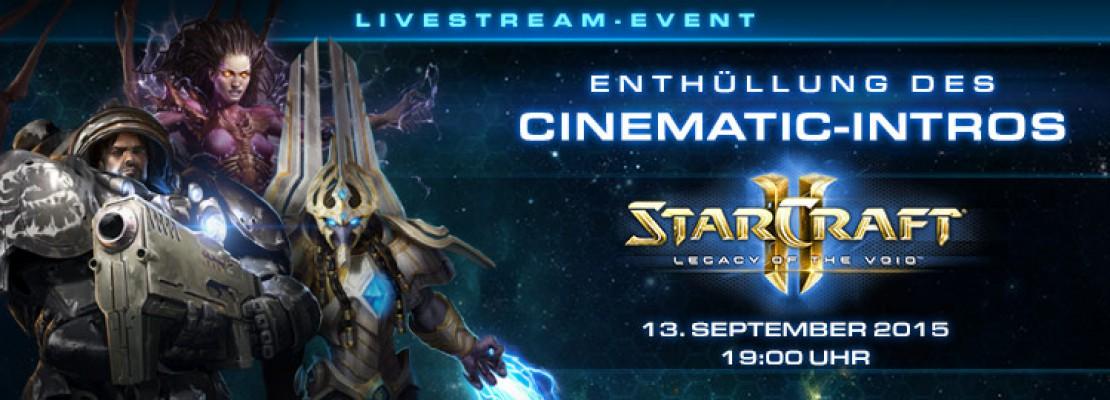 SC2 LotV: Das Cinematic und der Veröffentlichungstermin werden am 13. September enthüllt