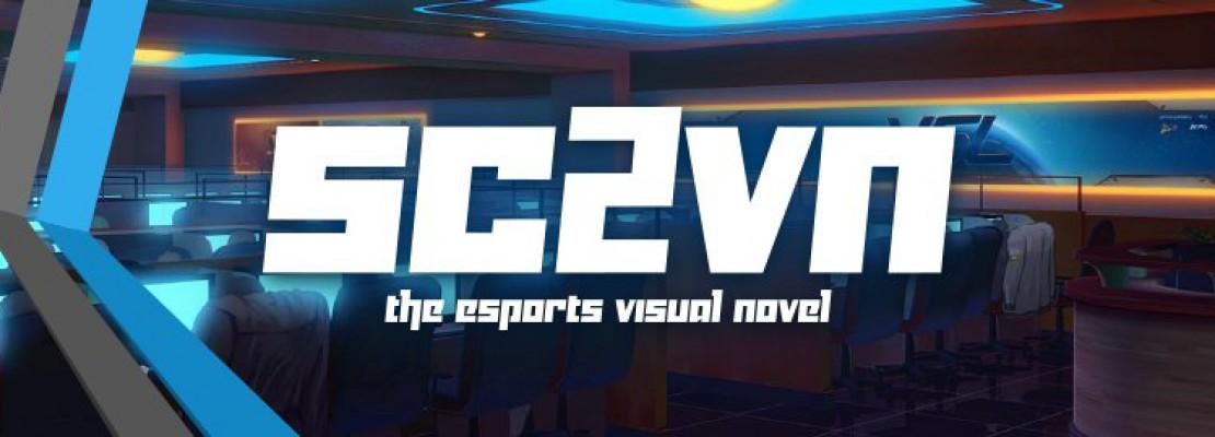 SC2VN: Eine Visual Novel über Pro-gaming und StarCraft II