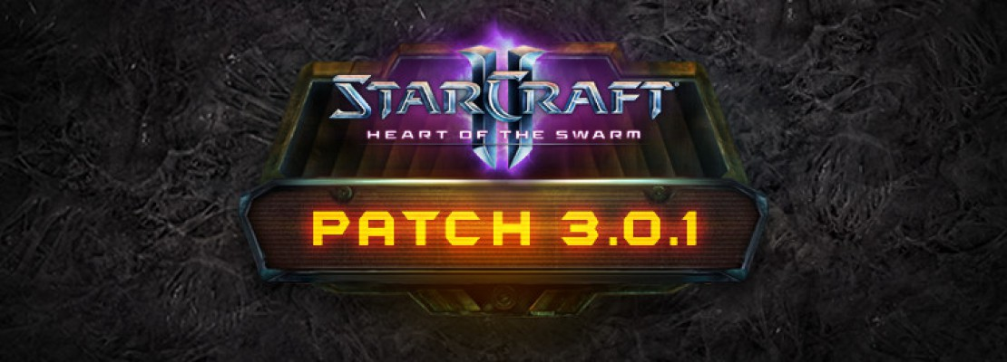 SC2: Patchnotes zu Patch 3.0.1