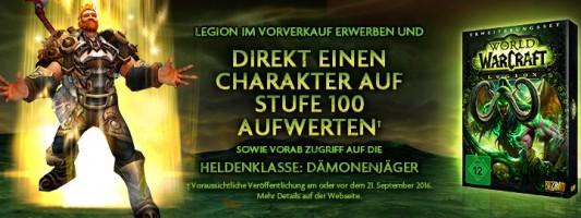 WoW: Eine offizielle Anleitung für die Charakteraufwertung auf Stufe 100