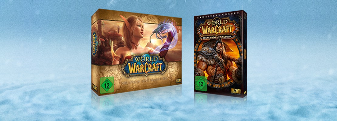 WoW: 65% Rabatt auf World of Warcraft und Warlords of Draenor