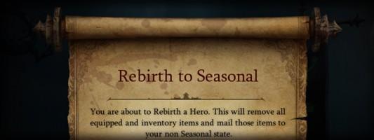 Diablo 3 Hinweis: Die Aufbewahrung der Post von der Saisonreinkarnation läuft bald ab
