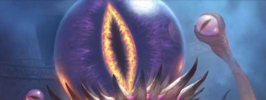 Hearthstone: Der C'Thuns Augen Kartenrücken ist im Shop erhältlich