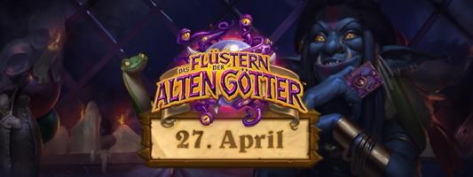 Das Flüstern der Alten Götter erscheint am 27. April