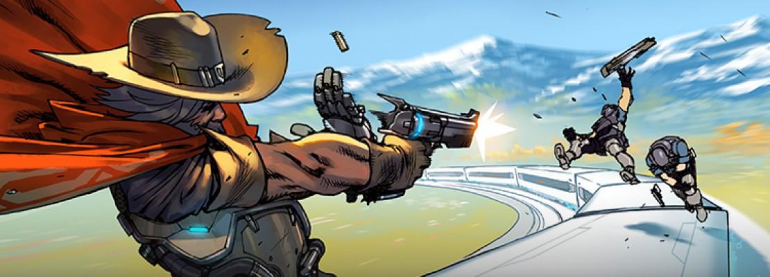"Overwatch: Das digitale Comic: ""Train Hopper"""
