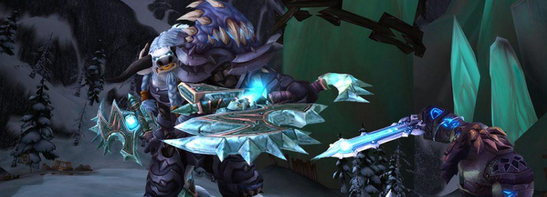 Patch 8.2: Änderungen am Frost-Todesritter und geplante Anpassungen am Waffen-Krieger