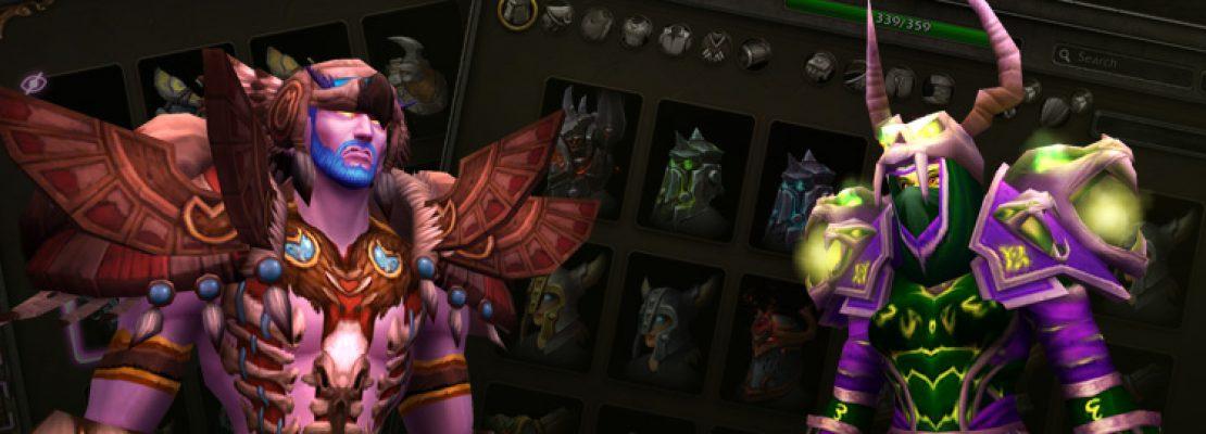 Shadowlands: Zauberstäbe können zu anderen Waffenarten transmogrifiziert werden