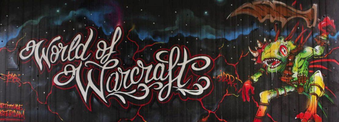 WoW: Drei beeindruckende Graffitis zu Warcraft