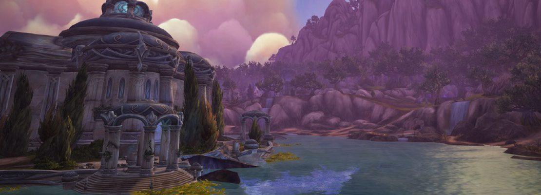 """Legion: Ein Blogeintrag zu der Zone """"Azsuna"""""""