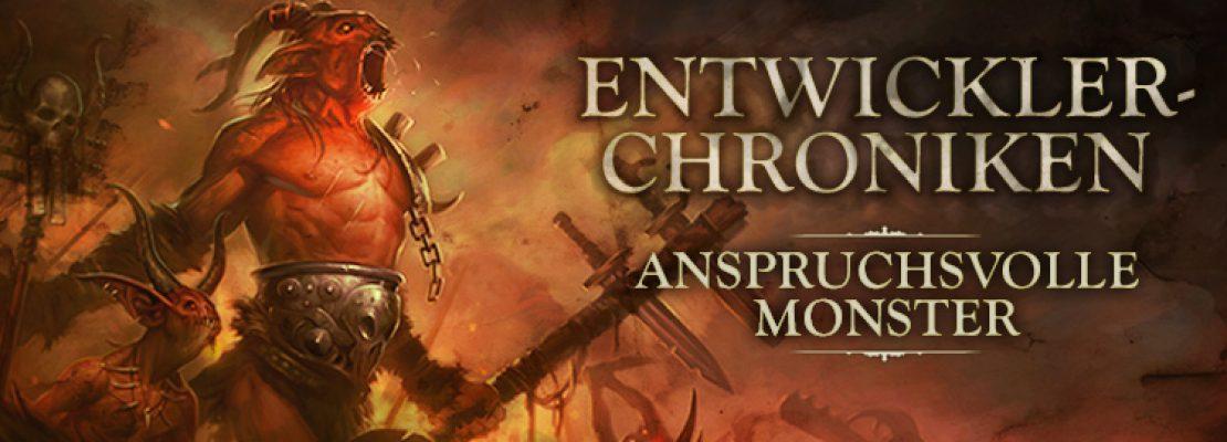 Diablo Entwickler-Chroniken: Anspruchsvolle Monster