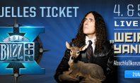 """Blizzcon: """"Weird Al"""" Yankovic spielt während des Abschlusskonzerts"""