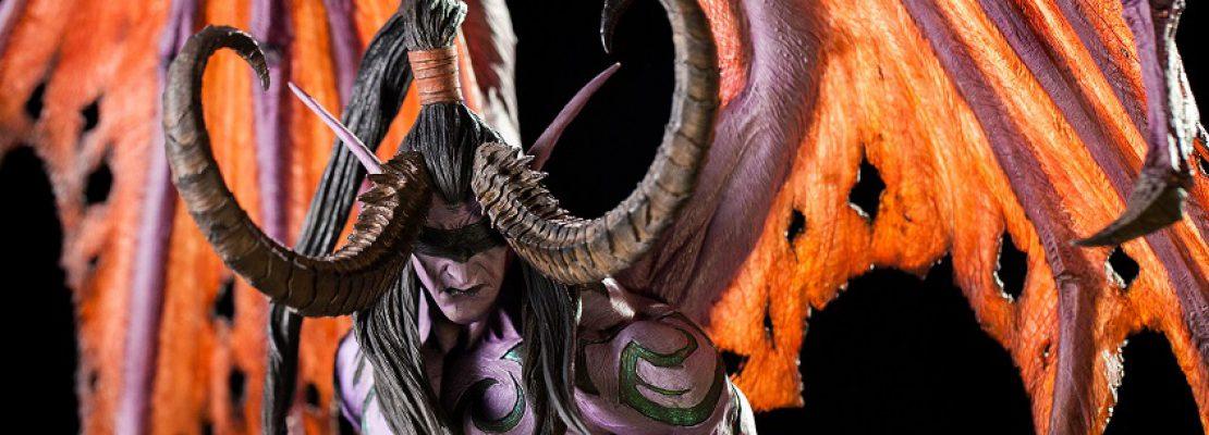 Blizzard: Die Statue von Illidan ist wieder verfügbar