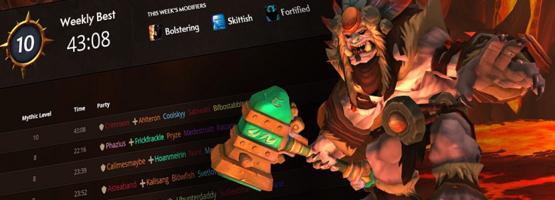 WoW: Die Ranglisten für mythische Dungeons sind online