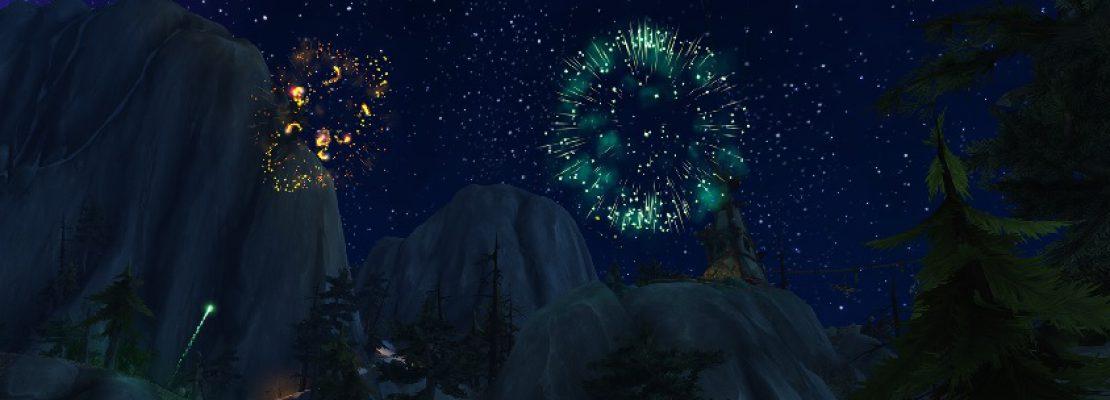 Blizzard: Die Neujahrsgrüße der Entwickler und ein Feuerwerk