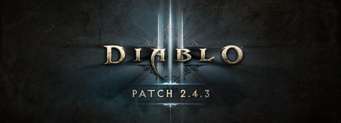 """Diablo 3: Patch 2.4.3 und das Gedenkereignis """"Finsternis in Tristram"""" wurden veröffentlicht"""