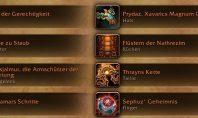 BfA: Legendaries aus Legion verlieren ab Stufe 116 ihre Wirkung