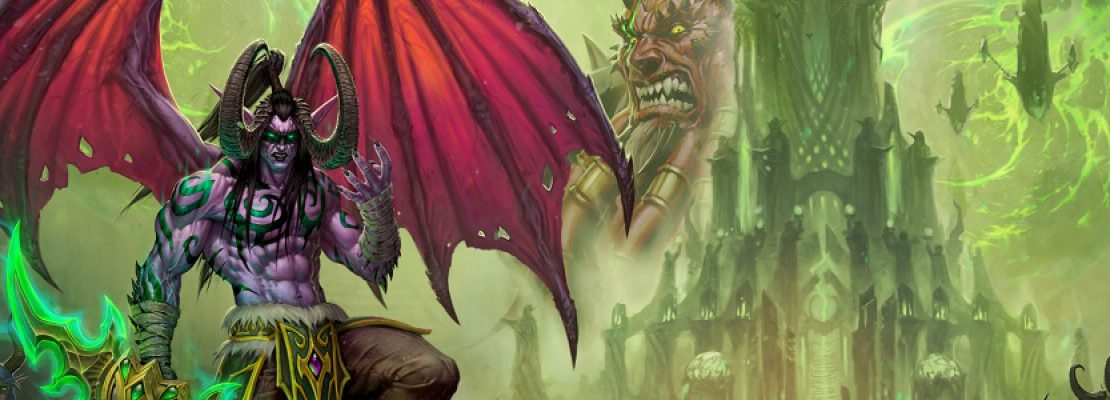 Blizzard Gallery: Der Druck für den September 2019 zeigt Illidan