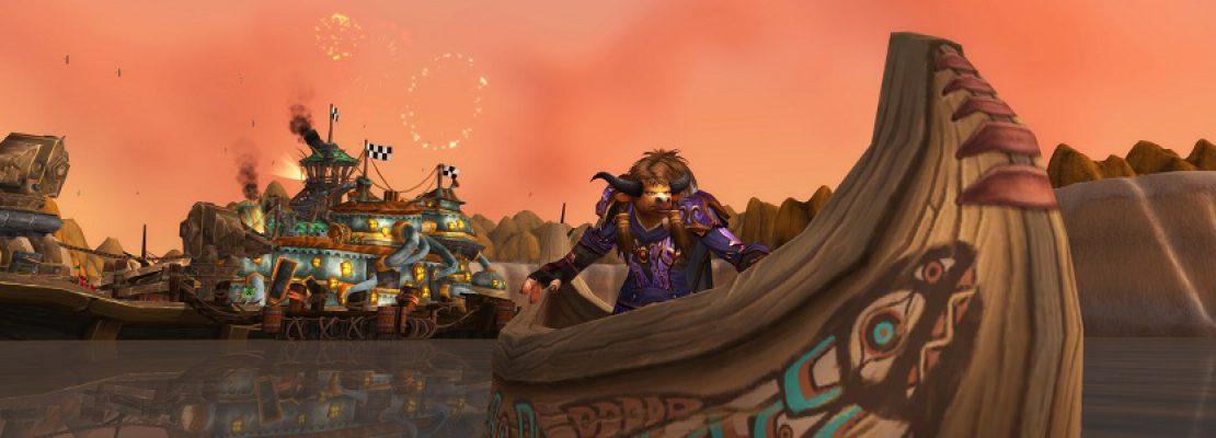 """WoW: Der Micro-Feiertag """"Tanz der tausend Boote"""" wurde gestartet"""