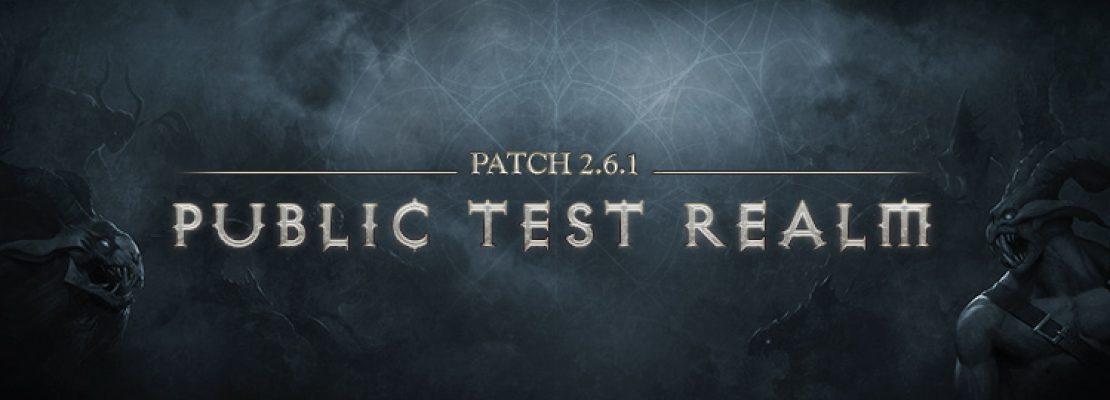Diablo 3: Am Donnerstag erscheint der letzte Build für den PTR von Patch 2.6.1