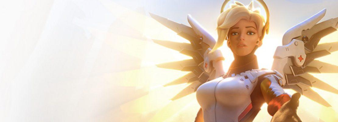 Overwatch: Eine Actionfigur von Mercy erscheint im Frühling 2019