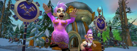 """WoW: Der Micro-Feiertag """"Das große Rennen von Gnomeregan"""" wurde gestartet"""