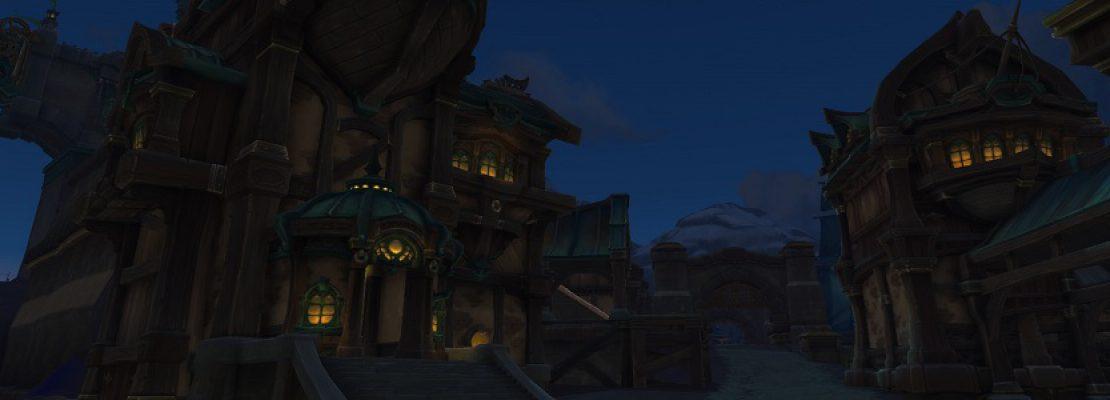 BfA: Screenshots zu Zuldazar und Boralus