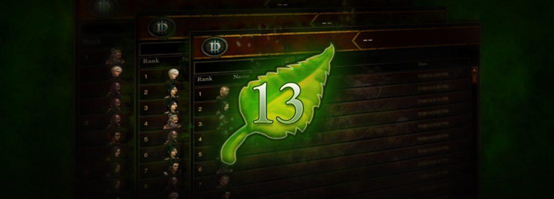 Diablo 3: Die dreizehnte Saison endet bald