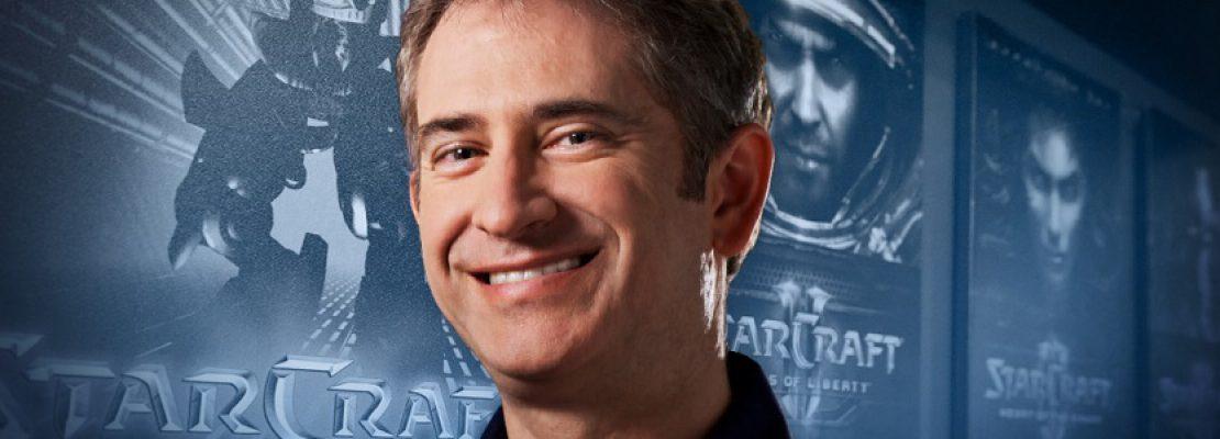 Mike Morhaime arbeitet nur noch bis zum April 2019 für Blizzard