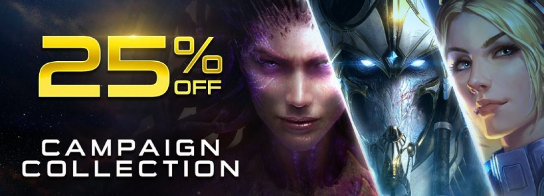SC2: 25% Rabatt auf die Campaign Collection