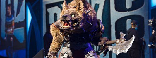 BfA: Eine Anspielung auf den Gewinner des Kostümwettbewerbs der Blizzcon