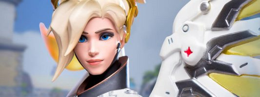 Overwatch: Eine Statue von Mercy kann vorbestellt werden