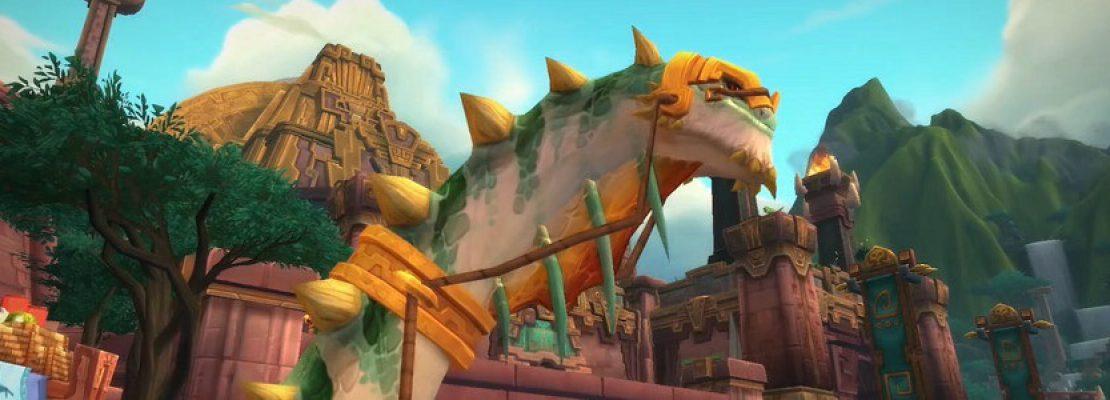Shadowlands: Der Karawanenbrutosaurus kann nur noch im Schwarzmarkt erworben werden